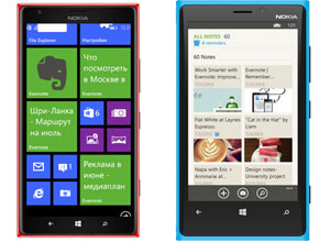 Evernote для Windows Phone
